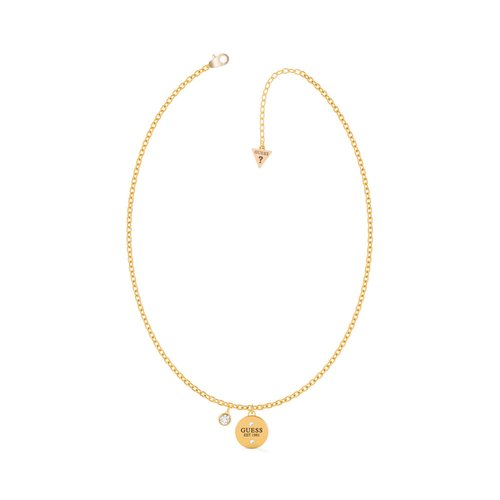 GUESS Steel Gold Necklace UBN79029