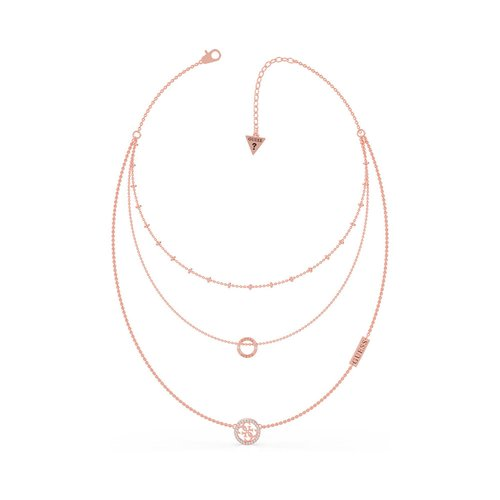 GUESS Steel Rose Gold Necklace UBN79050