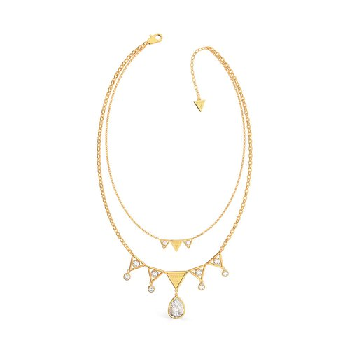 GUESS Steel Gold Necklace UBN79069