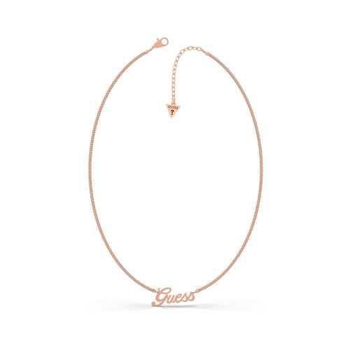 GUESS Steel Rose Gold Necklace UBN79078