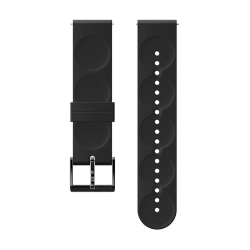 SUUNTO 20mm Urban 1 All Black Silicon Strap SS050058000