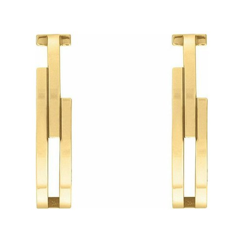 TOMMY HILFIGER Gold Stainless Steel Earrings 2780388