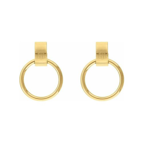 TOMMY HILFIGER Gold Stainless Steel Earrings 2780396