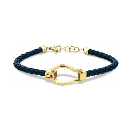 TOMMY HILFIGER Leather Stainless Steel Bracelet 2780397