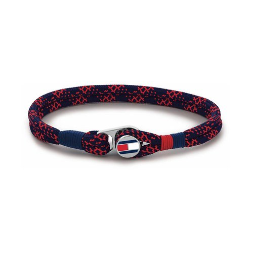 TOMMY HILFIGER Fabric Stainless Steel Bracelet 2790247