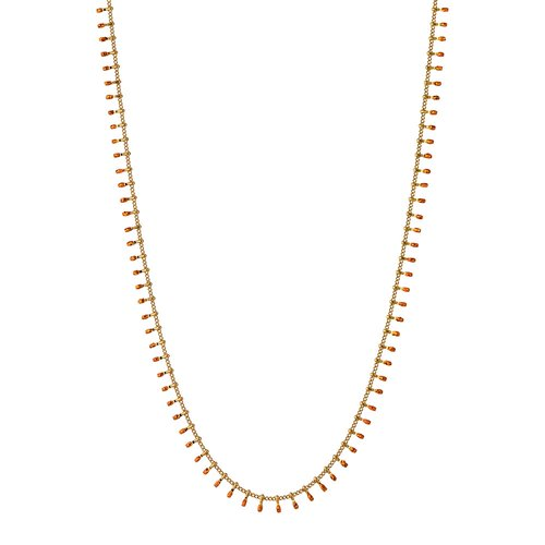 BREEZE Handmade Gold Stainless Steel 80cm Necklace 410023.1B