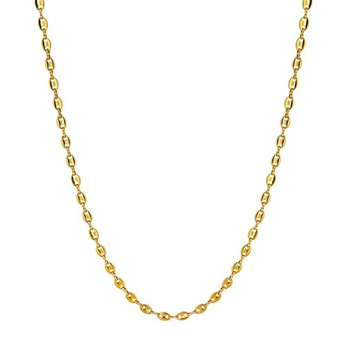 BREEZE Chain Gold Stainless Steel 60cm Necklace 410024.1A