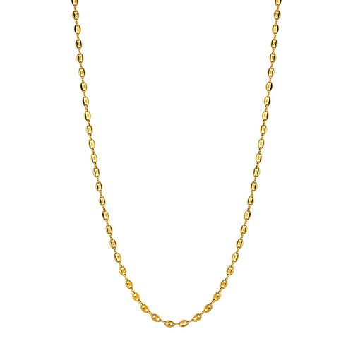 BREEZE Chain Gold Stainless Steel 80cm Necklace 410024.1B