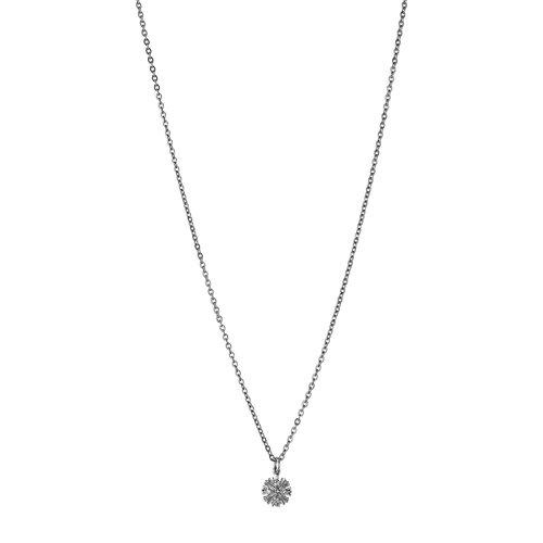 BREEZE Regal Pins Stainless Steel Zircons 45cm Necklace 410027.4