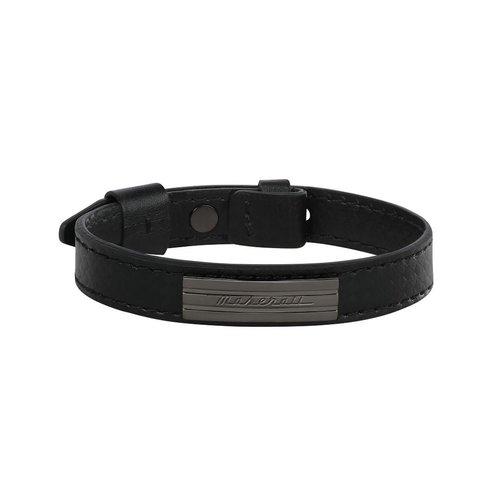 MASERATI Leather Bracelet JM218AMF05