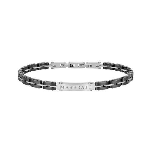 MASERATI Arm Ring Black Ceramic Bracelet JM219AQH10