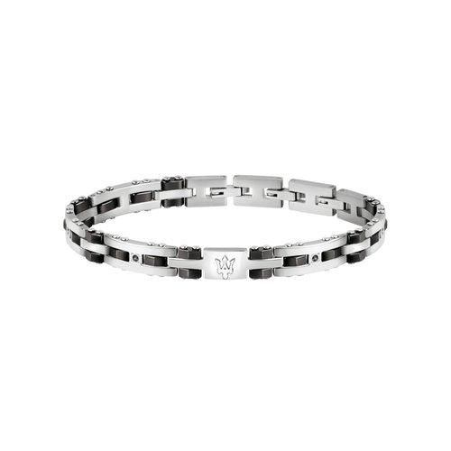 MASERATI Stainless Steel Bracelet JM220ASR02