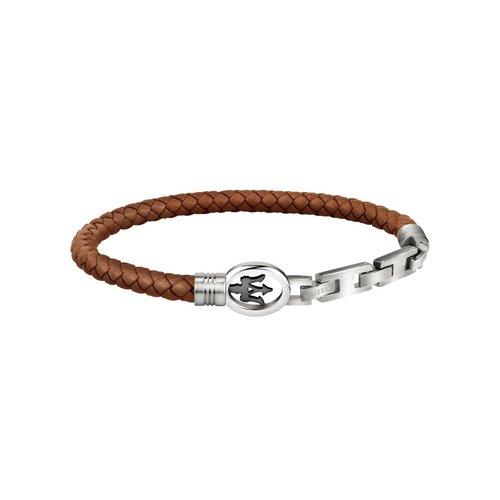 MASERATI Leather Bracelet JM320ASS03