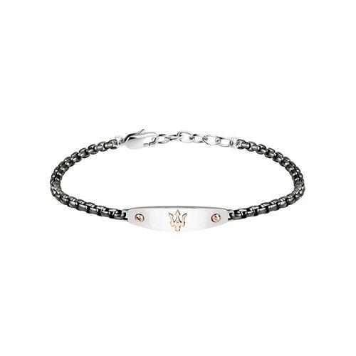 MASERATI Stainless Steel Bracelet JM320AST01