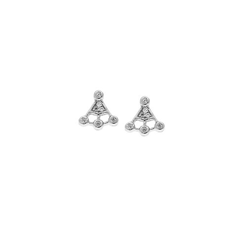 SENZA Silver 925 Earrings SSR1272