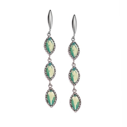 SENZA Silver 925 Earrings SSR1752MG