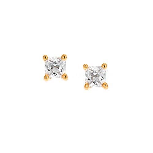 SENZA Silver 925 Earrings SSR1944GD