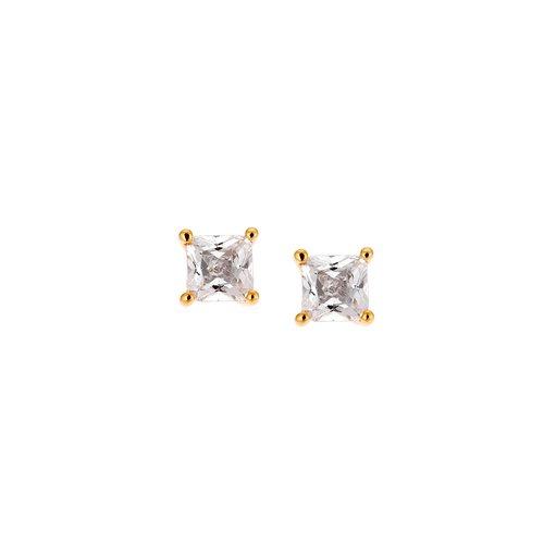 SENZA Silver 925 Earrings SSR1949GD