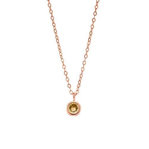 SENZA Silver 925 Necklace SSR2241RY