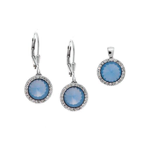 SENZA Silver 925 Set Pendant Earrings SSR2368AM