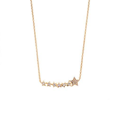 SENZA Silver 925 Necklace SSR2409GD