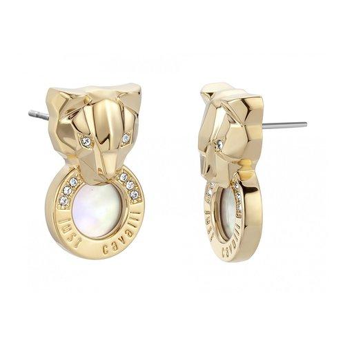 JUST CAVALLI Glam Chic Gold Stainless Steel Earrings JCER00790200