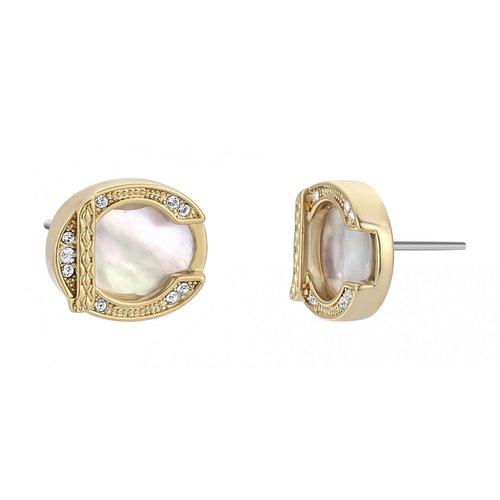 JUST CAVALLI Glam Chic Gold Stainless Steel Earrings JCER00830200