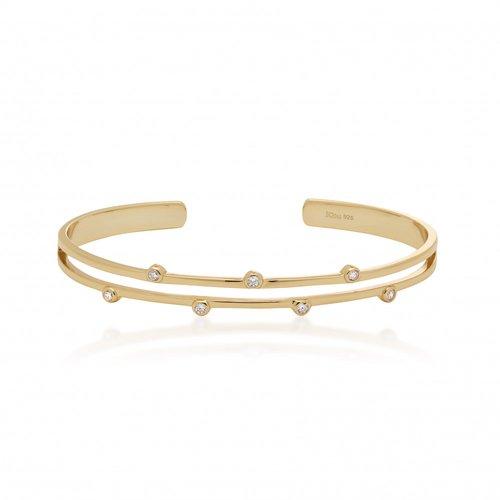JCOU Round Minimal Silver 925 Bracelet JW906G3-01