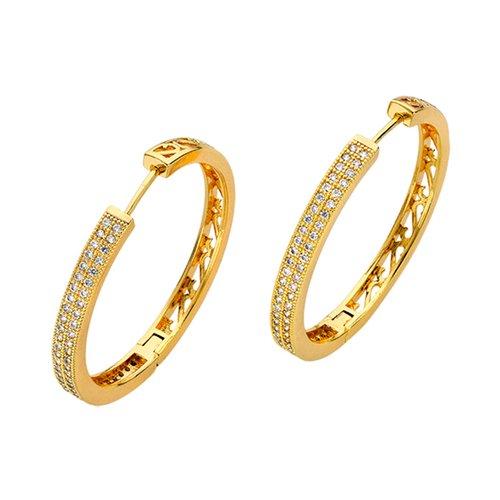 BREEZE Metal Earrings 210018.1