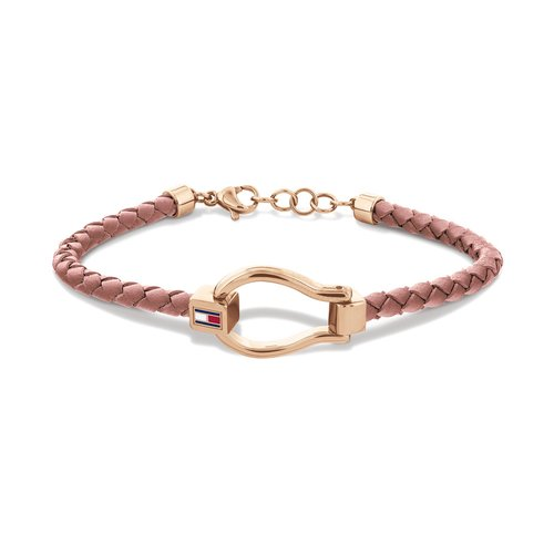 TOMMY HILFIGER Leather Stainless Steel Bracelet 2780399