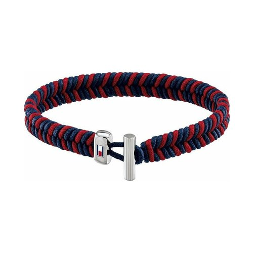 TOMMY HILFIGER Fabric Stainless Steel Bracelet 2790185