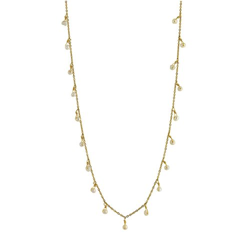 BREEZE Stainless Steel Pearls Necklace 410020.1B