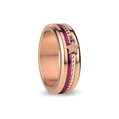 BERING Anniversary Stainless Steel Ring 526-ANNIV20RP