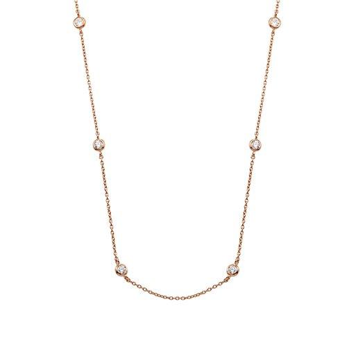 VOGUE Silver 925 Necklace 6153402
