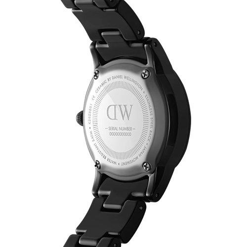 DANIEL WELLINGTON Iconic Link Ceramic 28 Black DW00100415