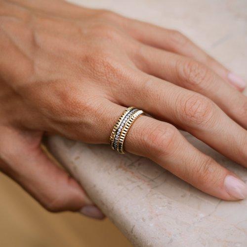 JCOU Queen's Silver 925 Ring JW903G0-01