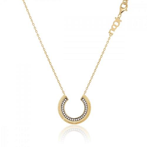 JCOU Queen's Silver 925 Necklace JW903G1-01