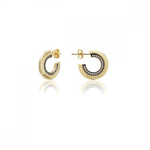 JCOU Queen's Silver 925 Earrings JW903G4-01