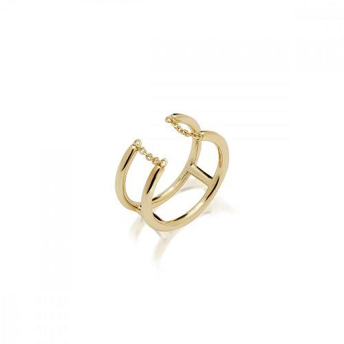 JCOU Chains Silver 925 Ring JW904G0-03