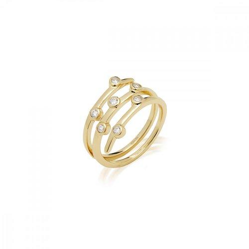 JCOU Round Minimal Silver 925 Ring JW906G0-02
