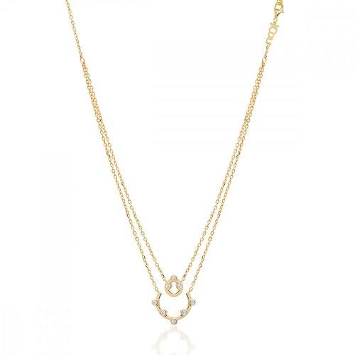 JCOU Round Minimal Silver 925 Necklace JW906G1-01