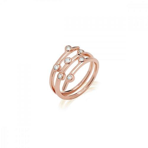 JCOU Round Minimal Silver 925 Ring JW906R0-02
