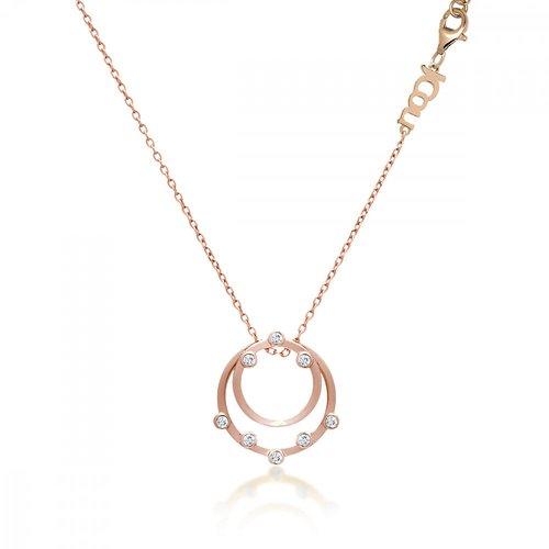 JCOU Round Minimal Silver 925 Necklace JW906R1-02