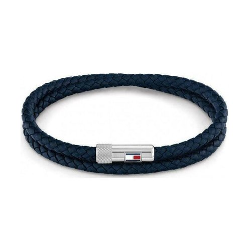 TOMMY HILFIGER Leather Stainless Steel Bracelet 2790264S