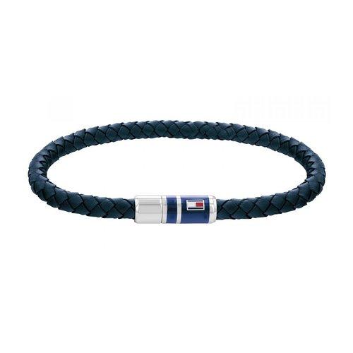 TOMMY HILFIGER Leather Stainless Steel Bracelet 2790294