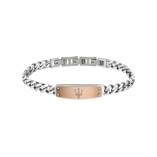 MASERATI Stainless Steel Bracelet JM320AST03