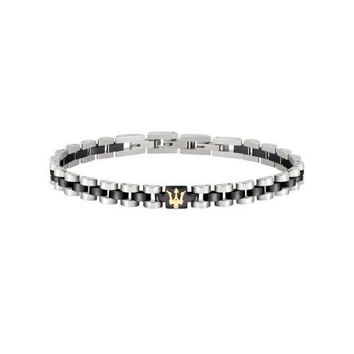 MASERATI Stainless Steel Bracelet JM320AST08