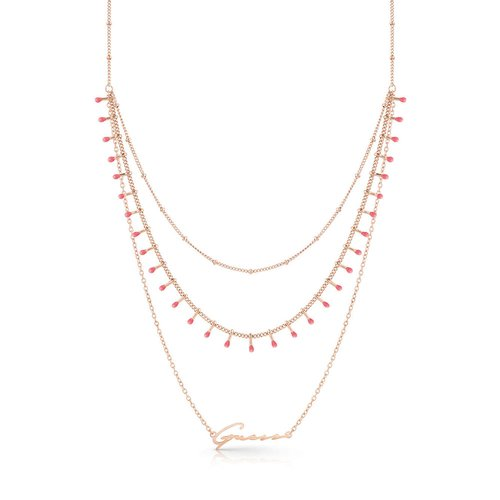 GUESS Steel Necklace UBN70098