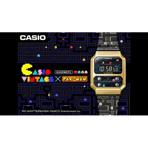 CASIO Vintage Pac-Man And Bandai Namco Entertainment Inc. A-100WEPC-1BER