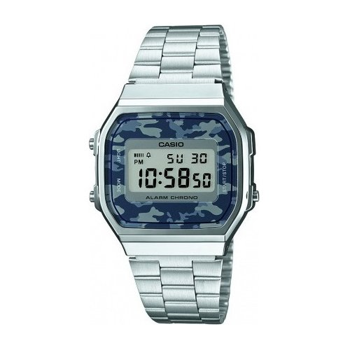 CASIO Collection Stainless Steel Bracelet A-168WEC-1EF